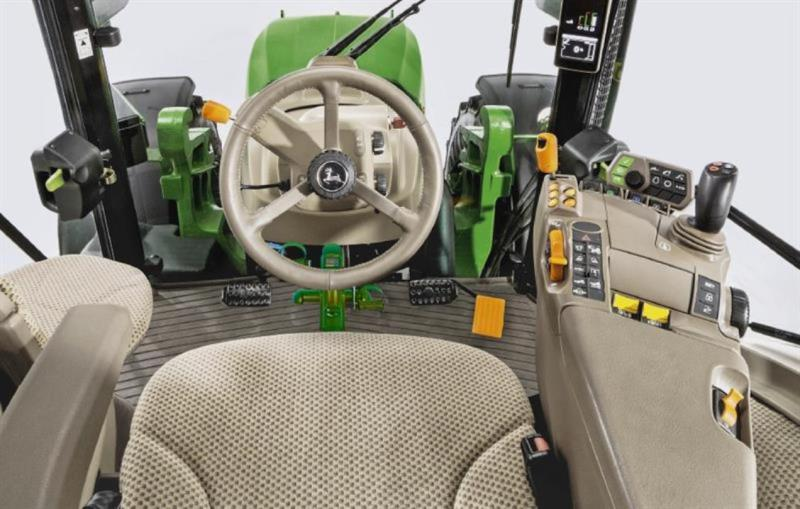 Built-in bicycle option for John Deere tractors